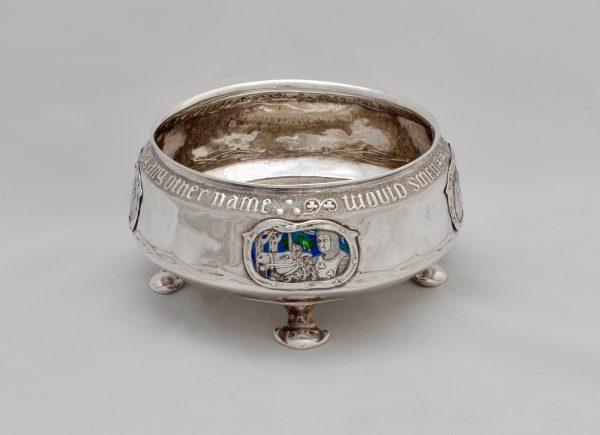 A Liberty Cymric silver rosebowl