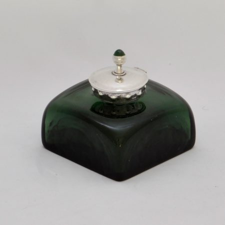 Charles Ashbee Guild of Handicraft silver inkwell