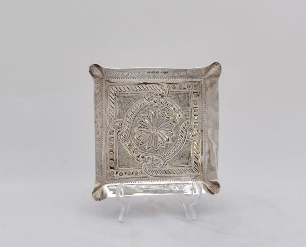 Connells arts crafts silver dish