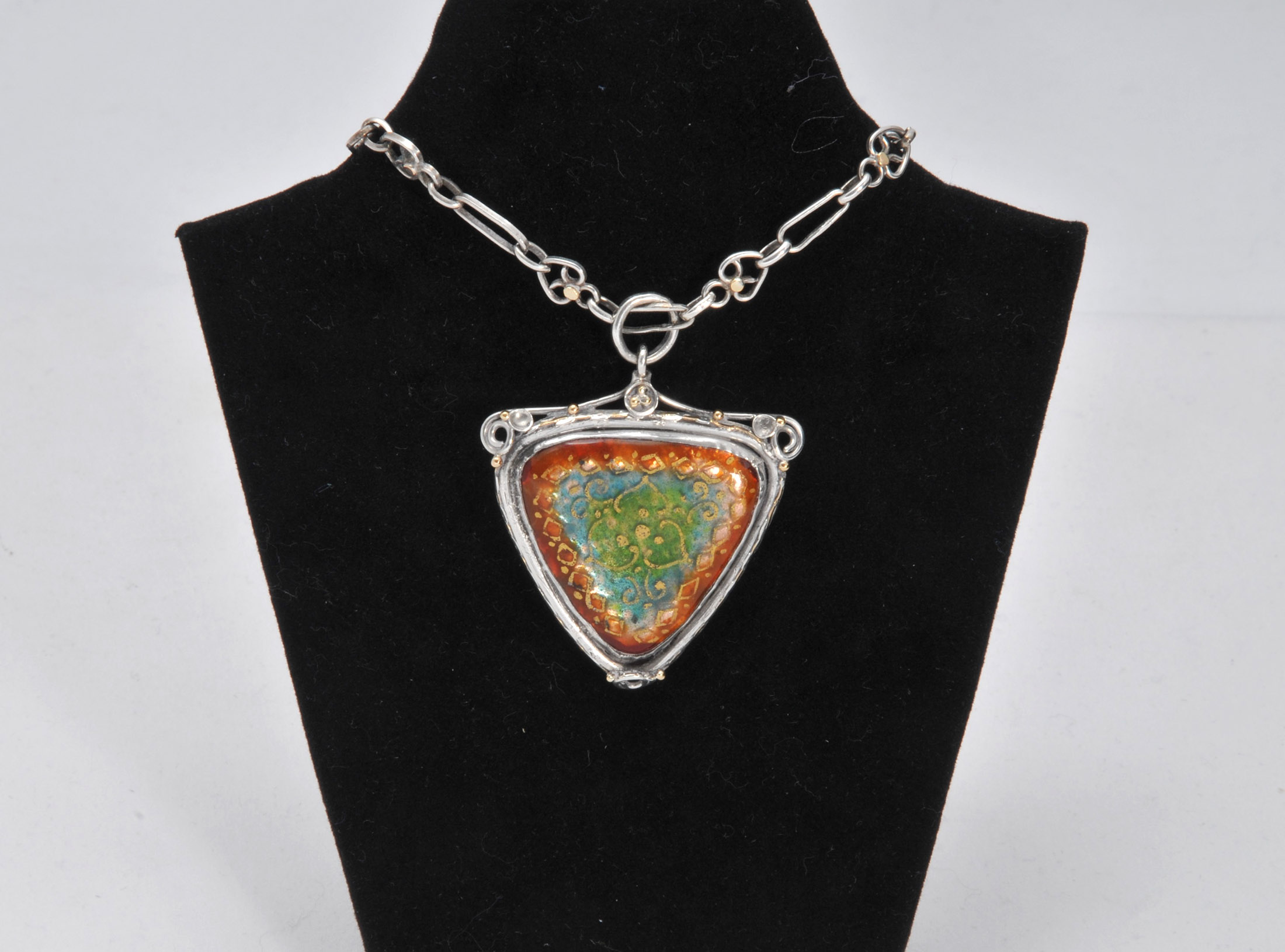 Arts and crafts Enamel pendant