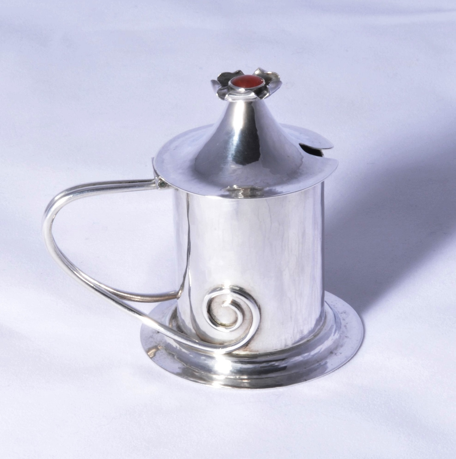 Charles Ashbee Guild of Handicraft silver mustard