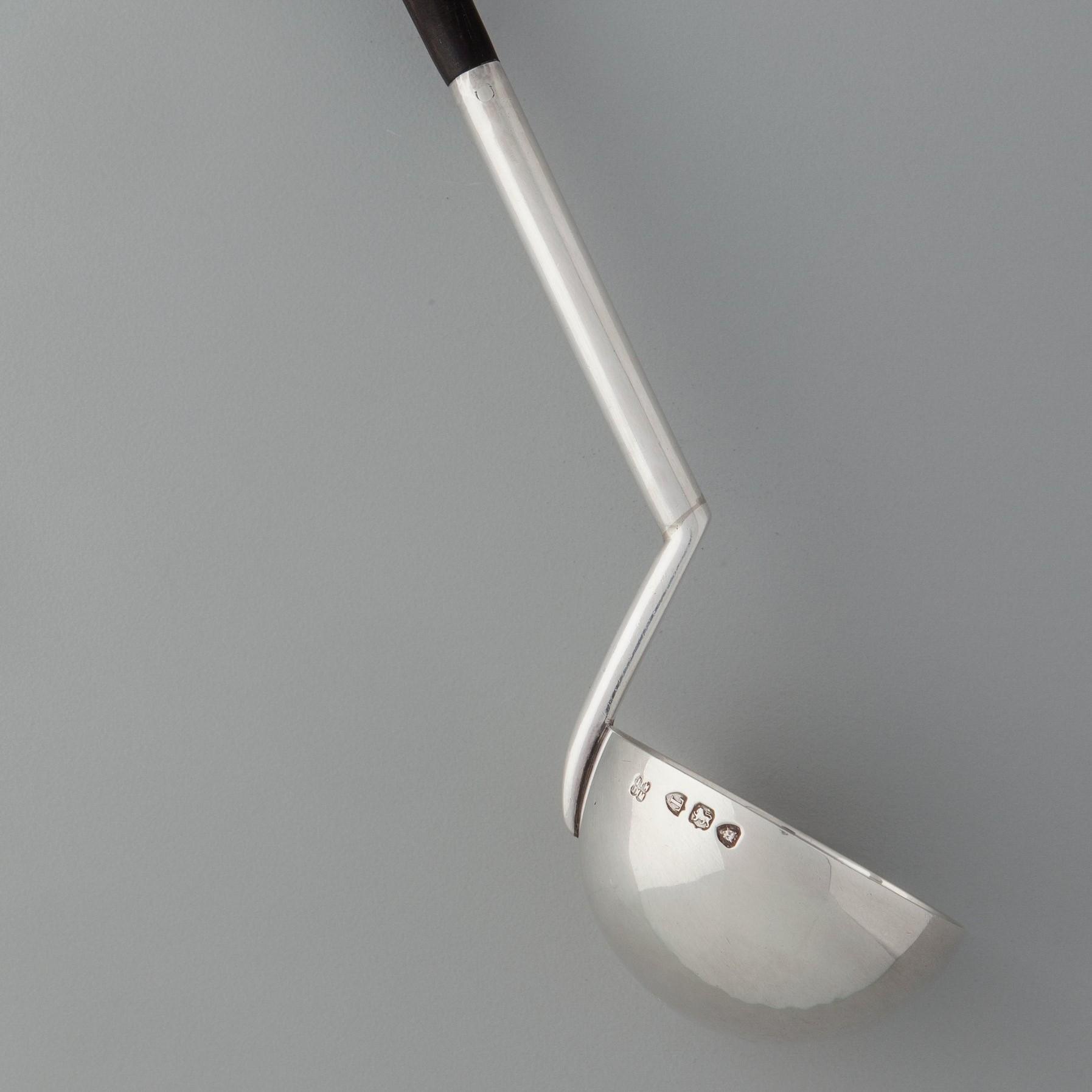 Christopher Dresser silver ladle