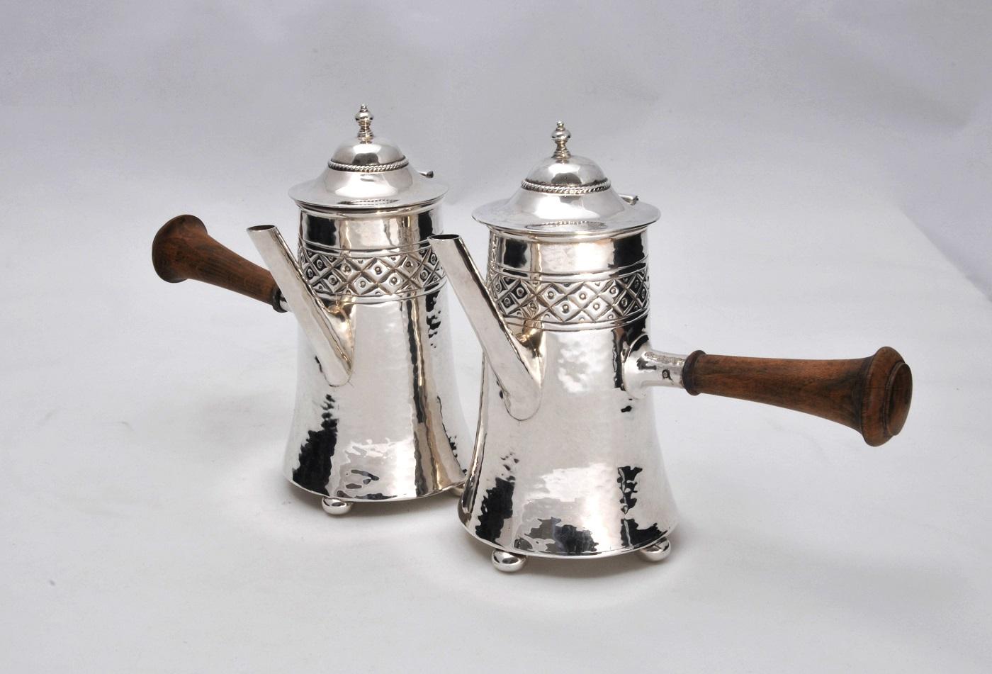 A E Jones coffee pots