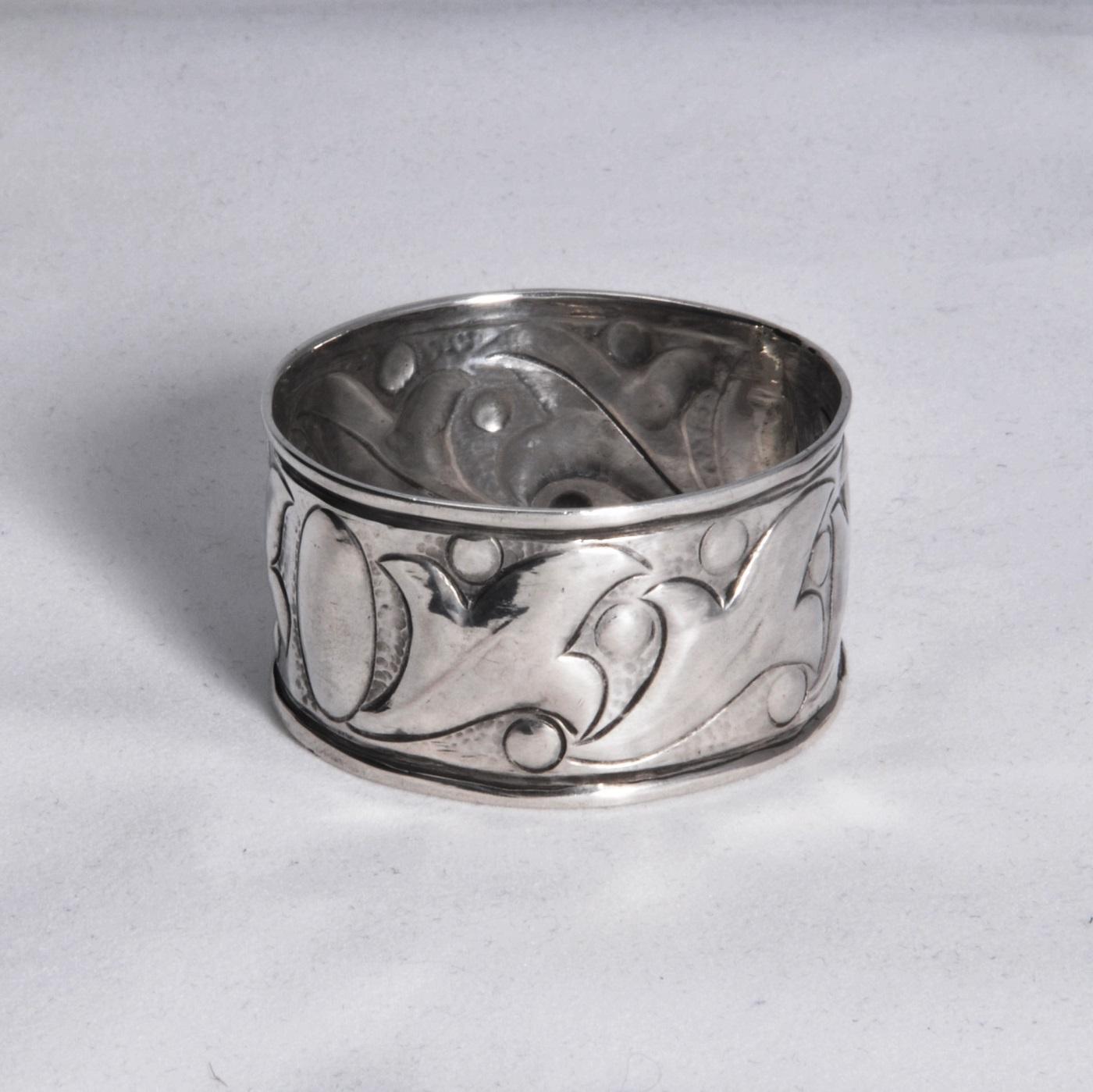 Keswick School of Industrial Arts napkin ring