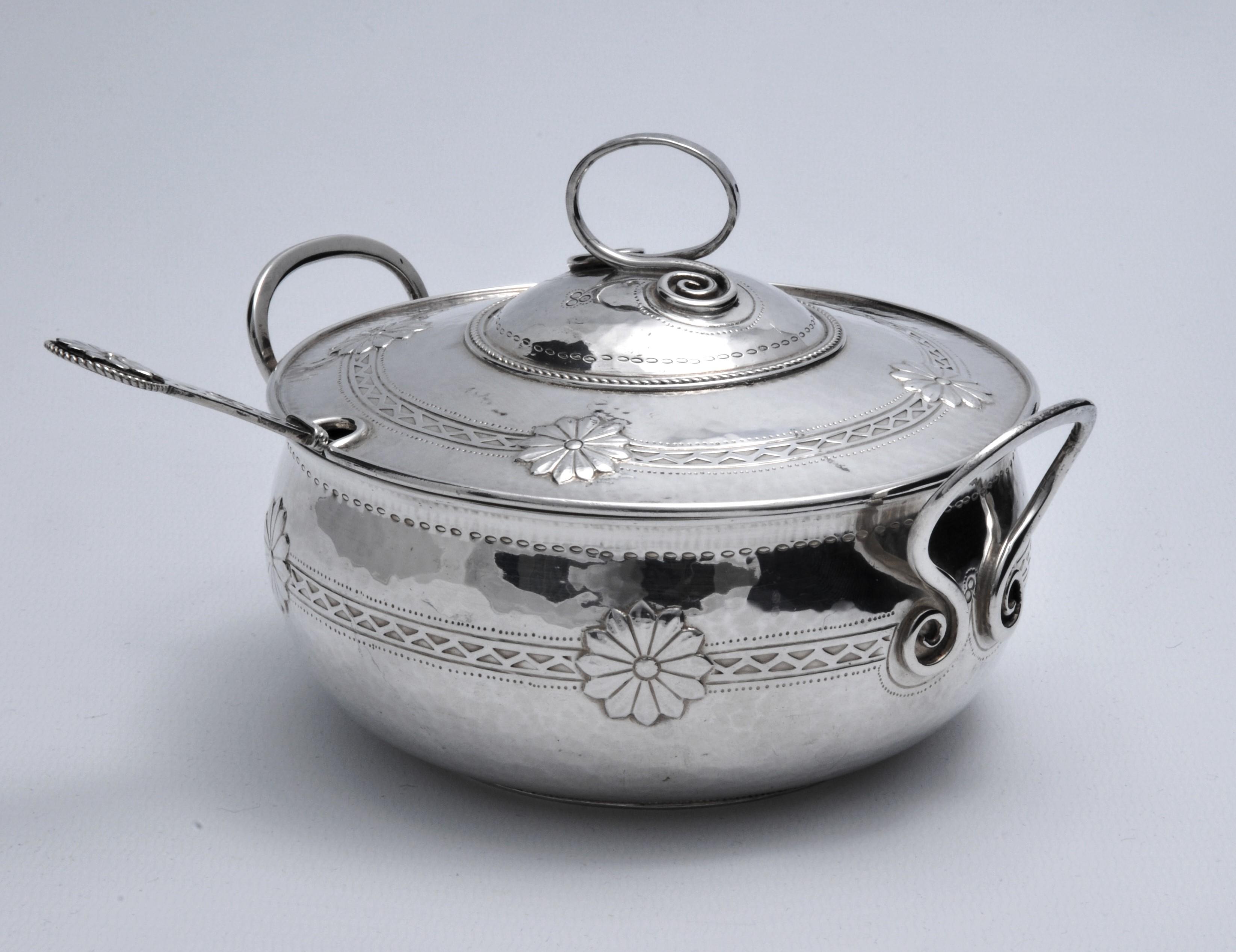 Bernard Cuzner Liberty silver dish