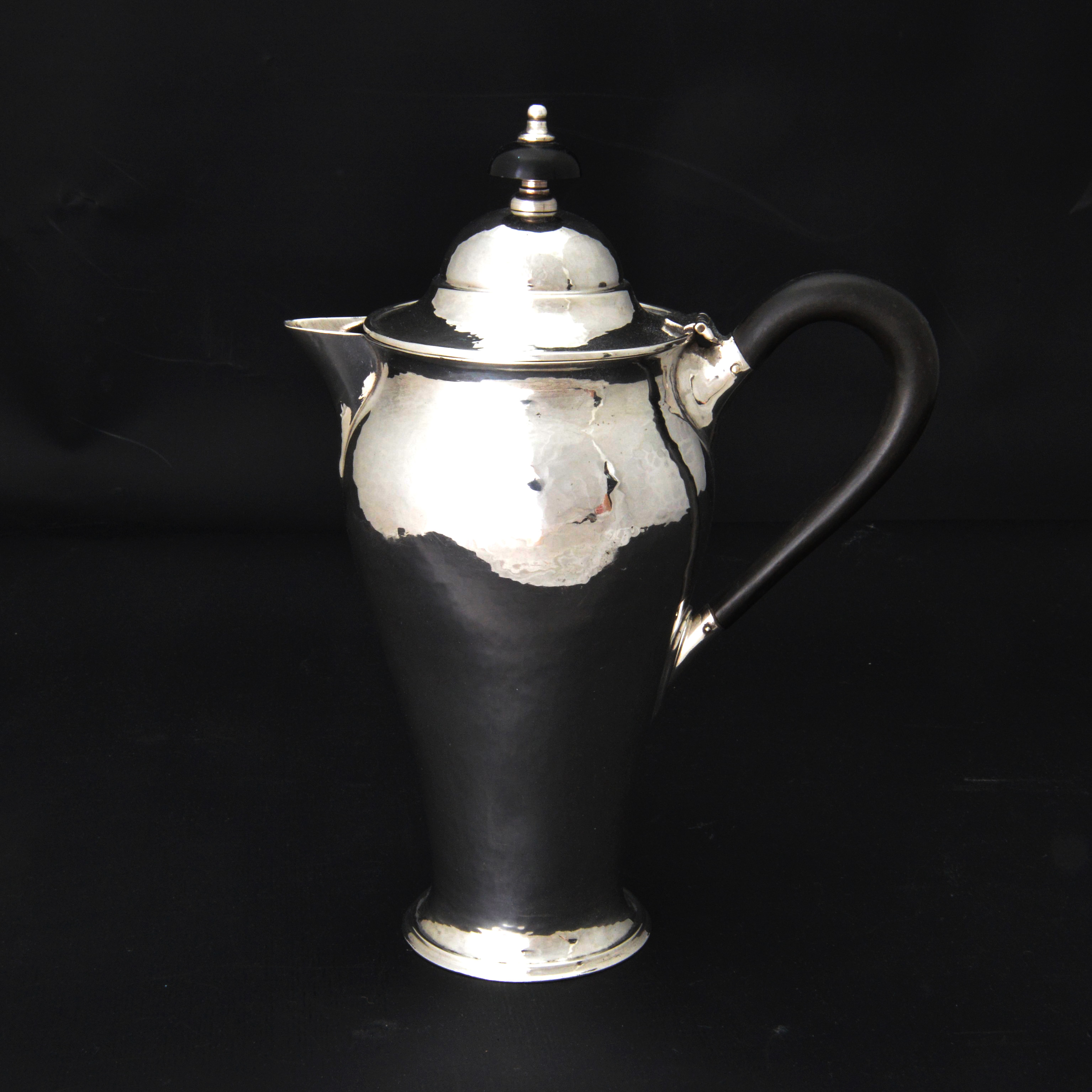 Birmingham Guild of Handicraft silver coffee pot