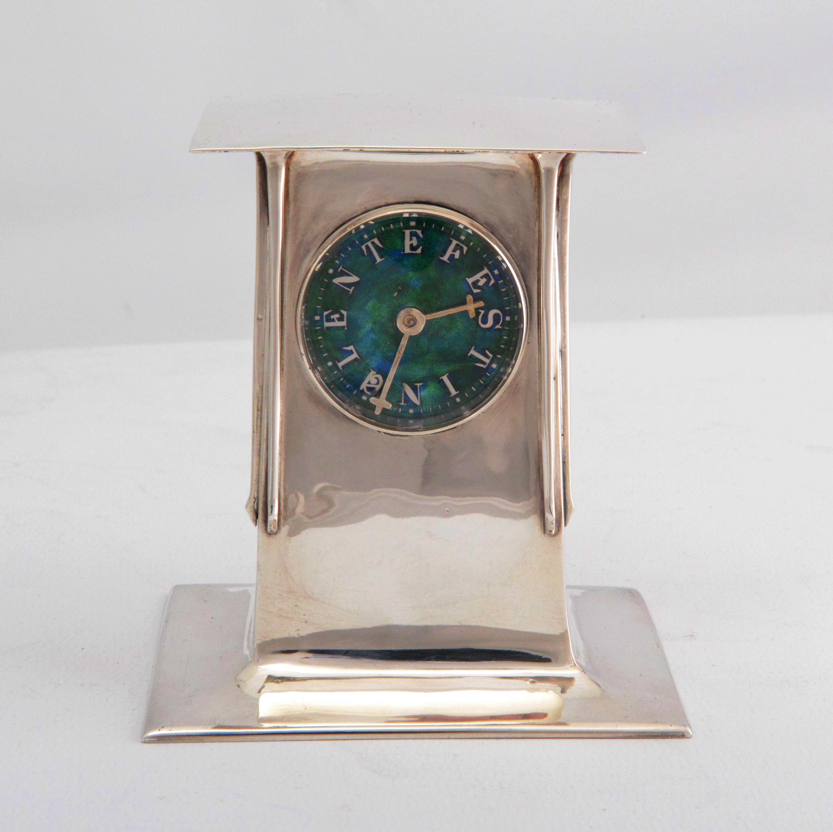 Liberty Cymric silver, Archibald Knox clock