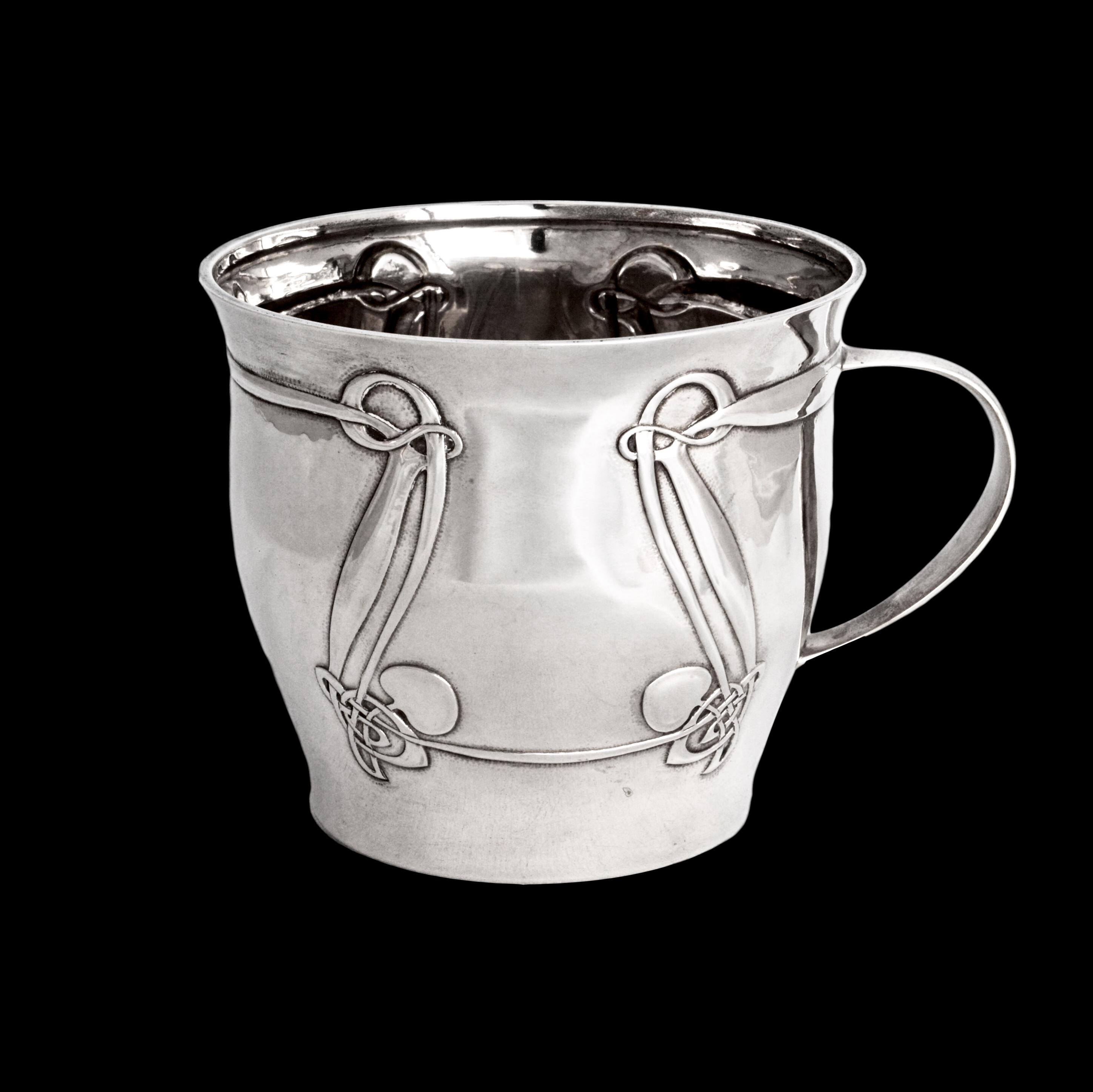 Archibald Knox silver, Liberty Cymric silver