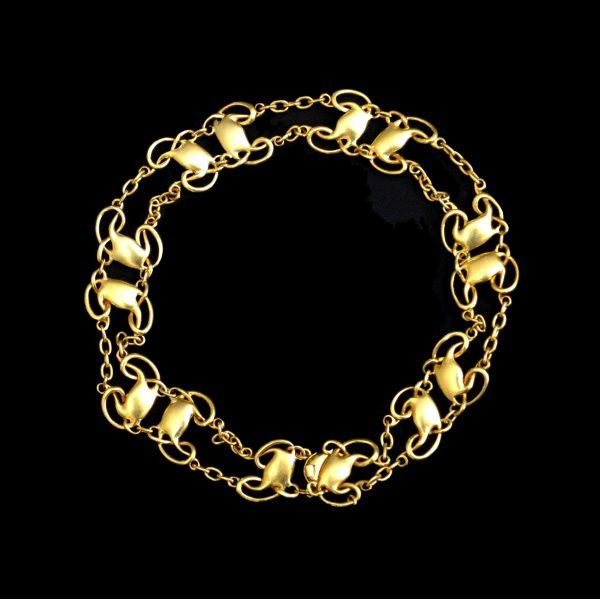 Archibald Knox for Liberty gold bracelet
