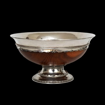 Guild of Handicraft silver mazer bowl