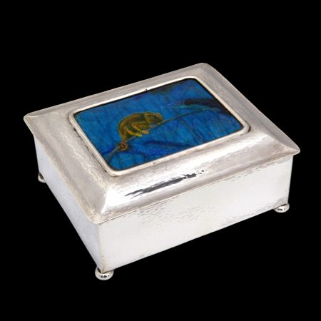 Guoi;d of Handicraft silver box