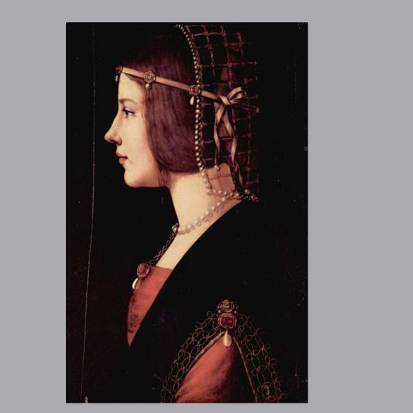Isabella d'Este, Leonardo da Vinci