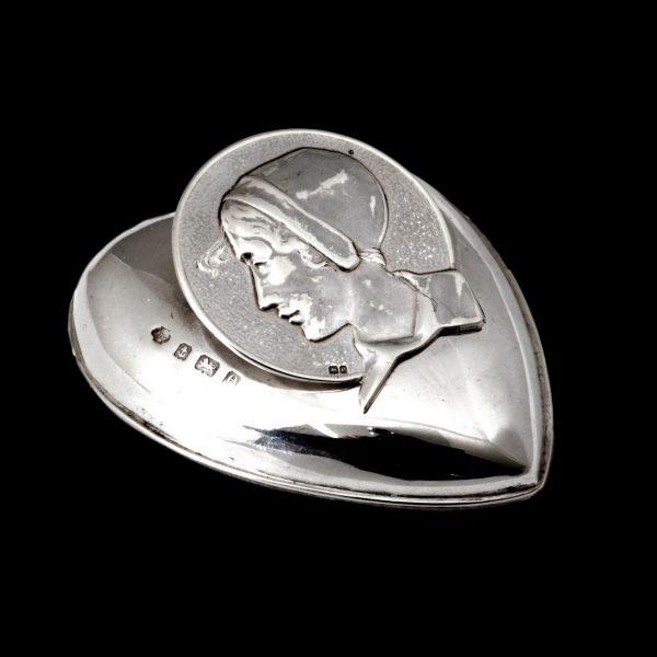 Kate harris art nouveau silver clip