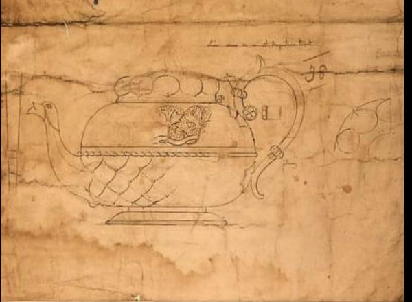 Pugin design for teapot