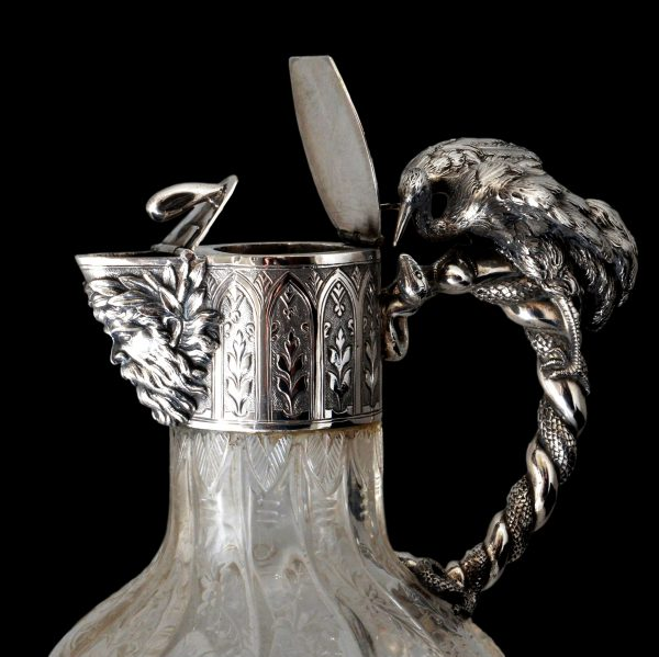 silver claret jug