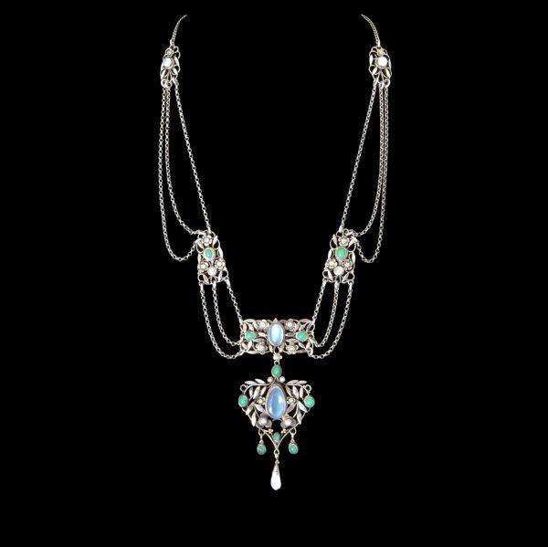 Arthur georgie gaskin necklace, gaskins necklace