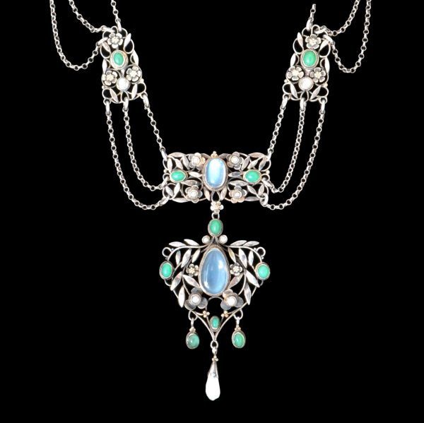 Gaskin necklace, Arthur georgie Gaskin jewellery
