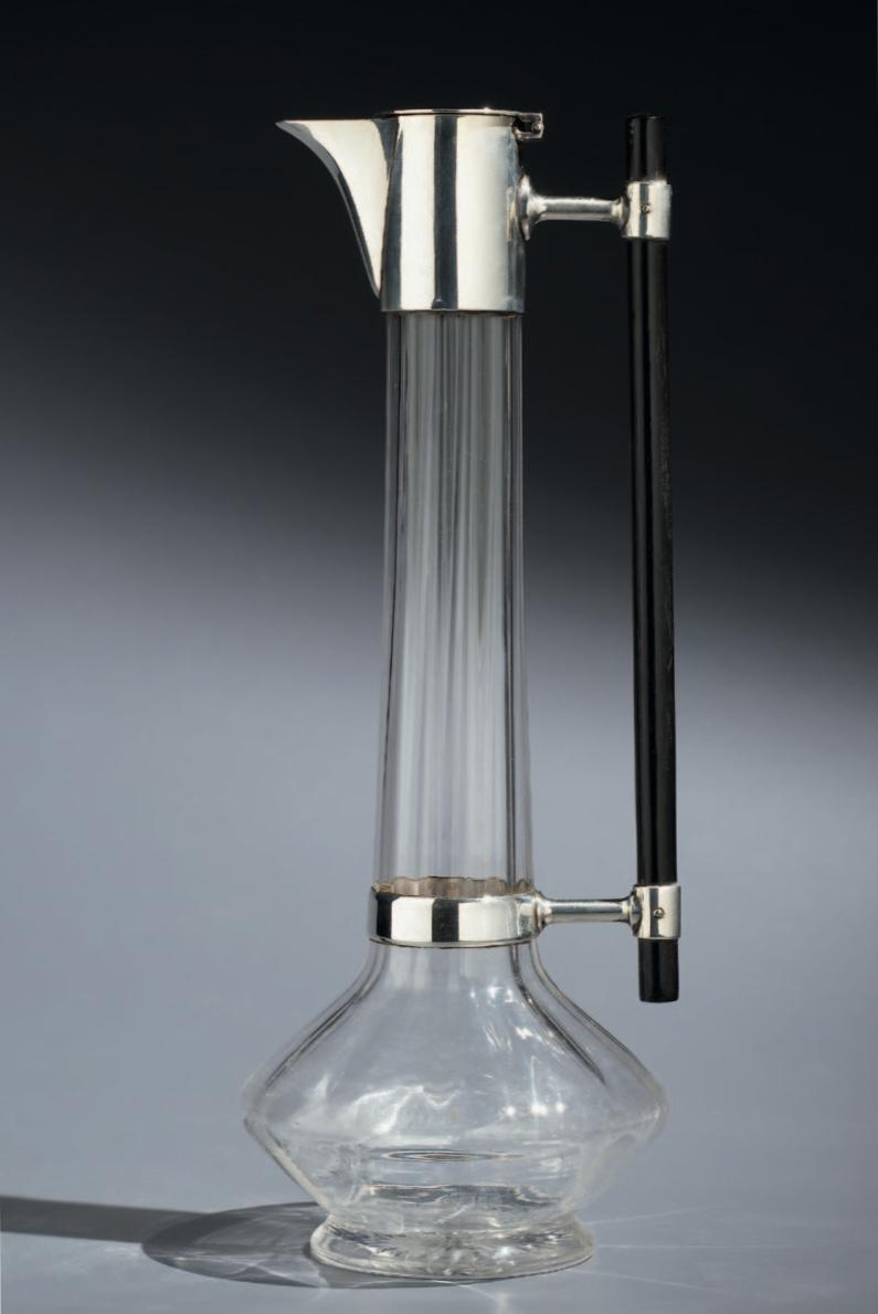 Christopher dresser silver claret jug
