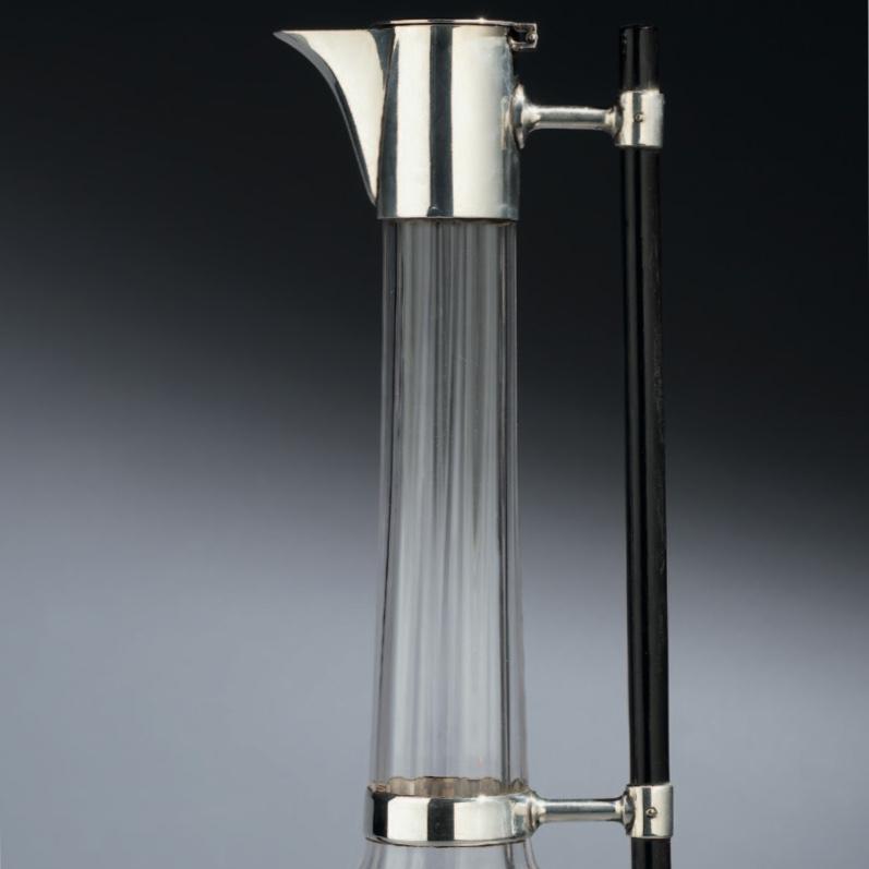 Christopher dresser silver, christopher dresser claret jug