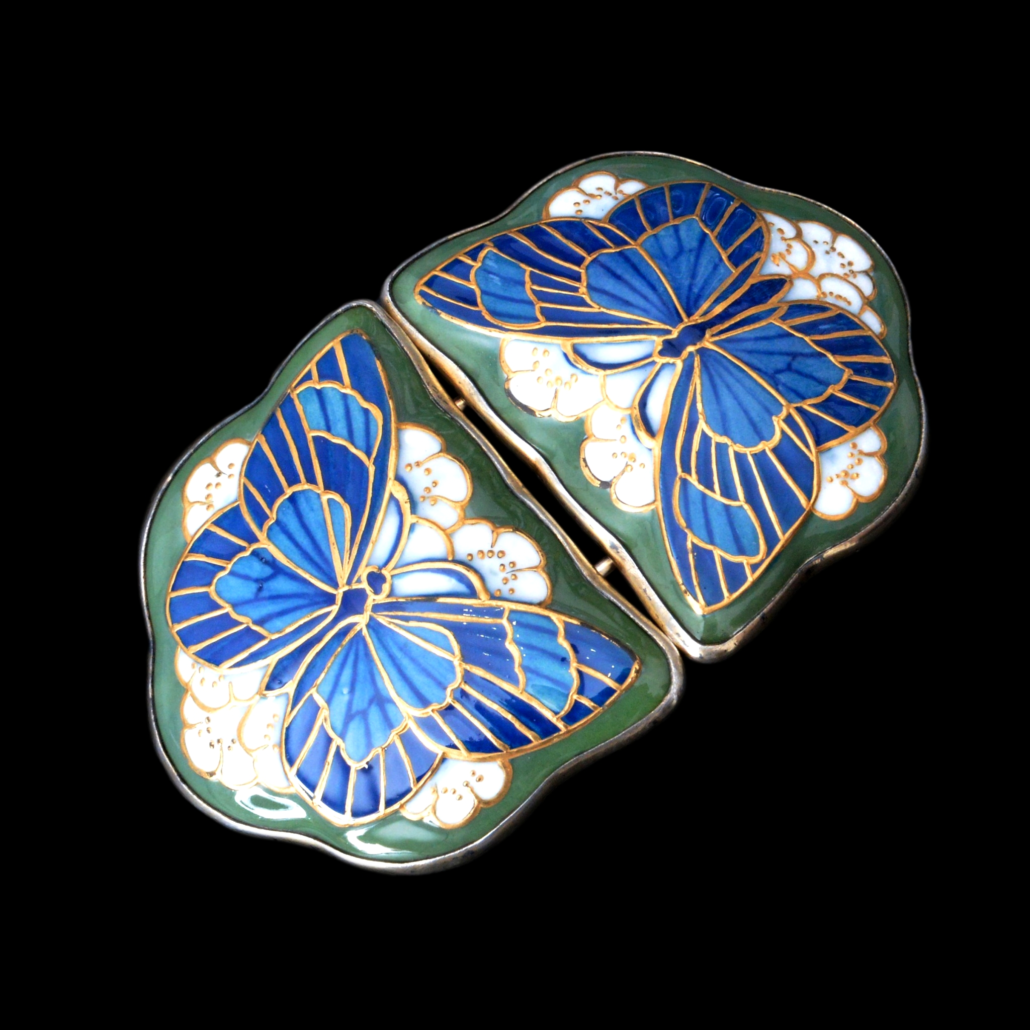 Christien Thomsen buckle, anton michelsen butterfly buckle