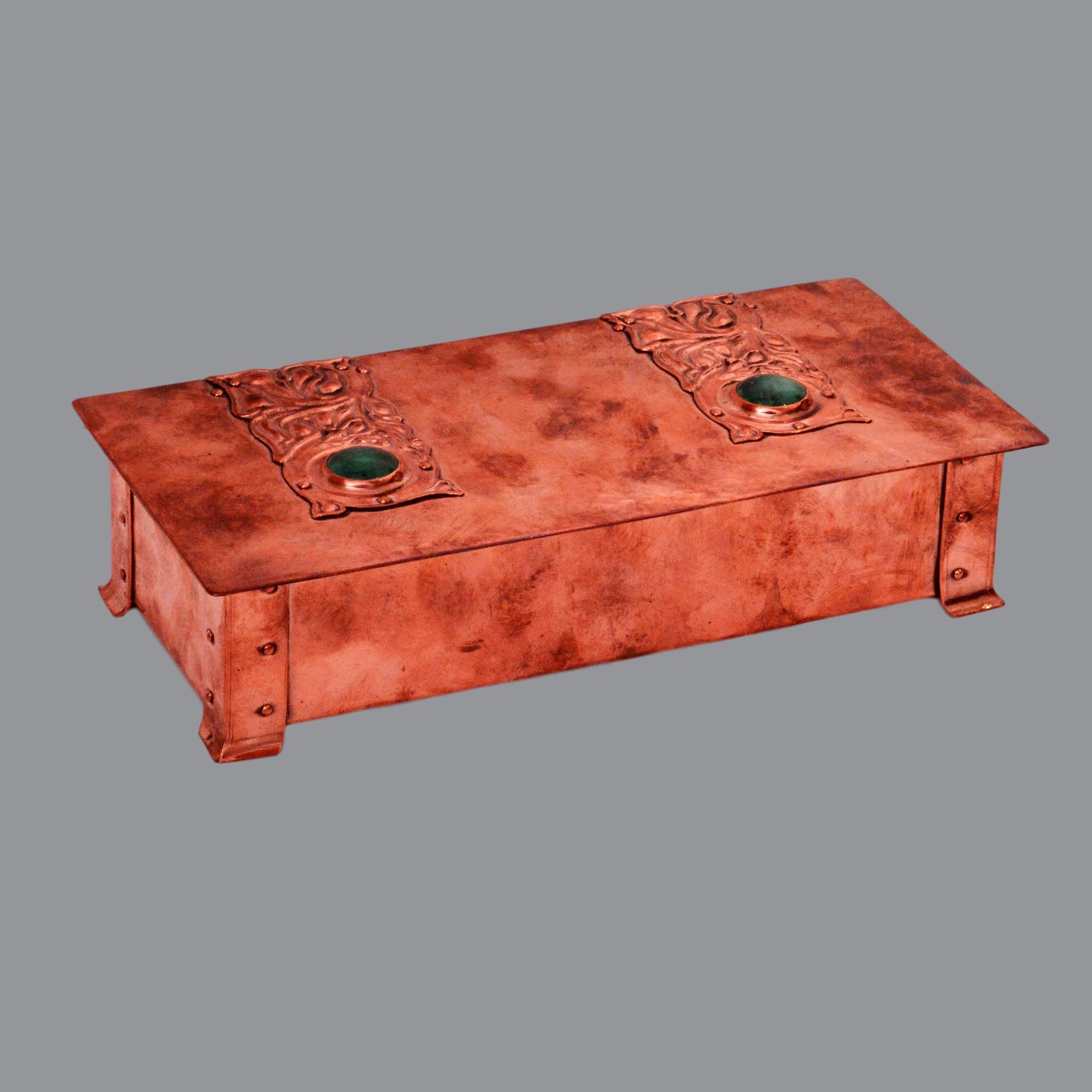 A E Jones box, A E Jones copper rukin