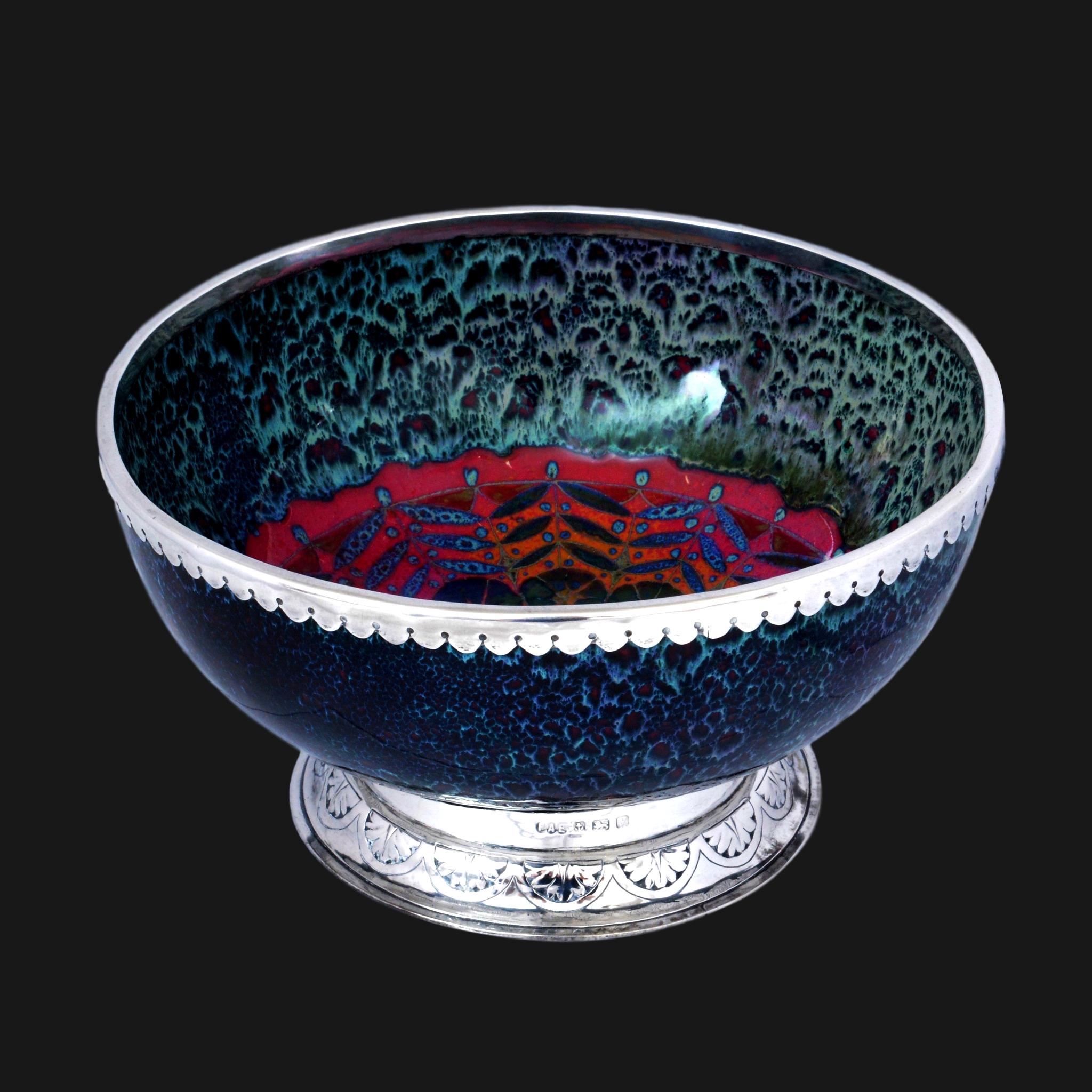 Doulton Sung, Francis Arthur Edwardes silver