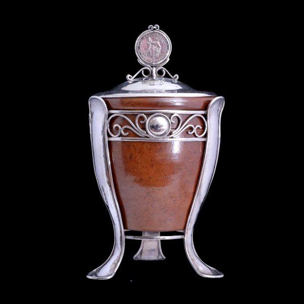 harry hall swansea, arts craft silver