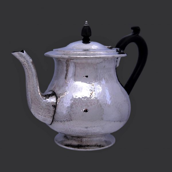 Sibyl Dunlop silver arts and crafts teapot