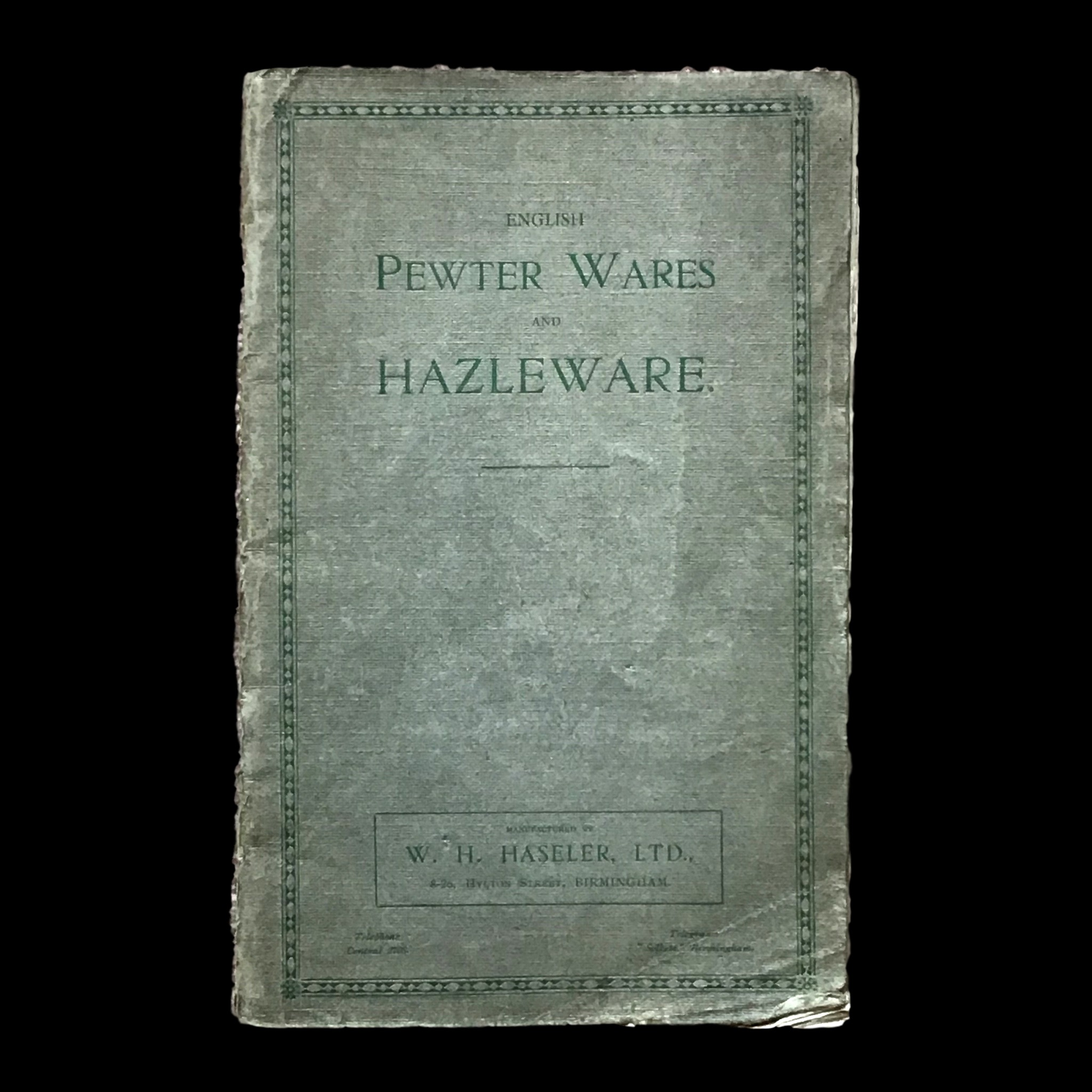New Haseler/Tudric/Hazleware pewter research