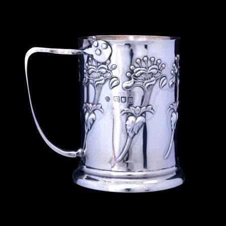 kate harris silver, art nouveau silver