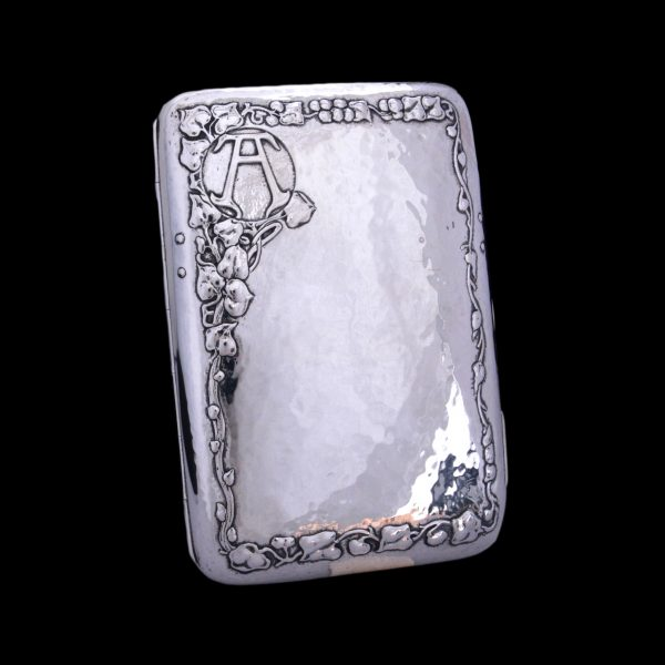 Ramsden and Carr silver, Omar ramsden and Alwyn carr, cigar cases