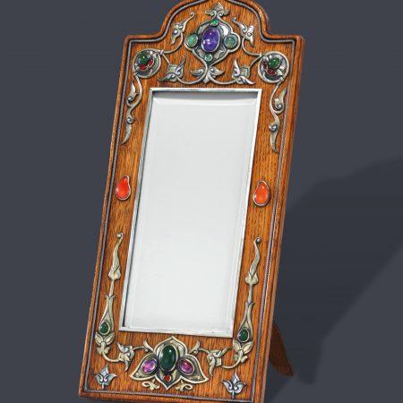 faberge photo frame, faberge gem set frame