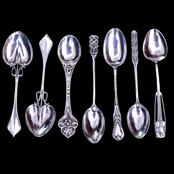 arts and crafts silver spoons