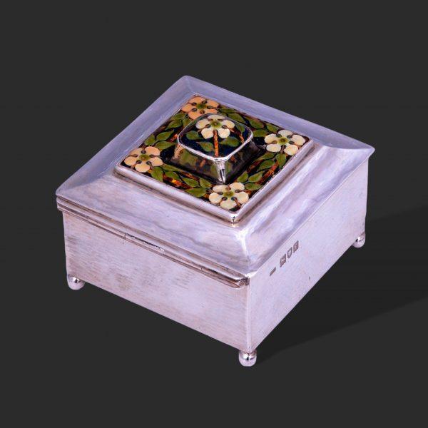 Guild handicraft silver enamel